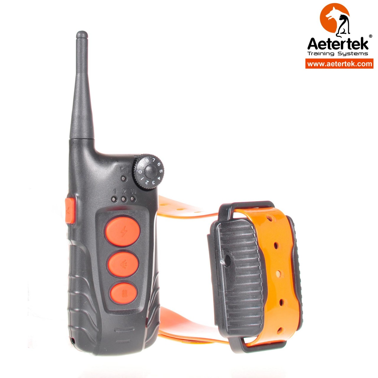c19e90f73cd4 Casa    Aetertek AT-918C    Aetertek nuevo AT-918C 1 collar de choque de  entrenamiento remoto de perro recargable y sumergible rango 550M